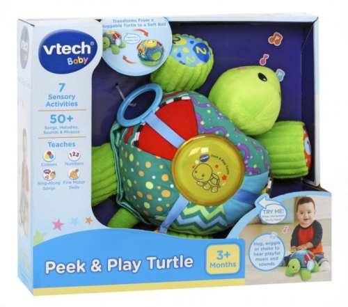 Vtech Peek Play turtle
