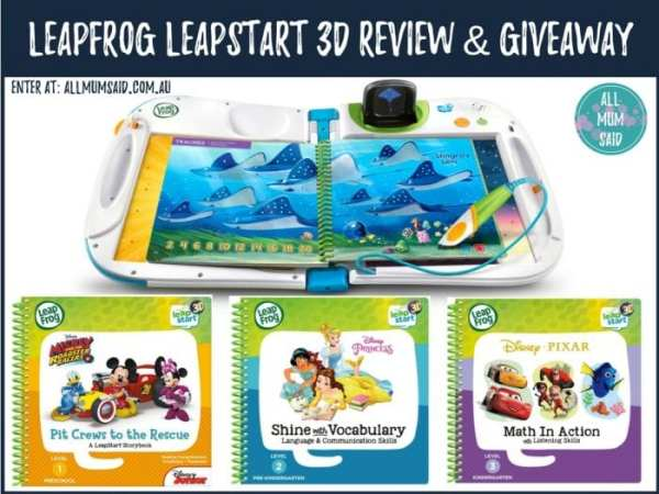 LeapFrog LeapStart 3D review and giveaway