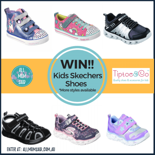 Kids Skechers shoes review giveaway