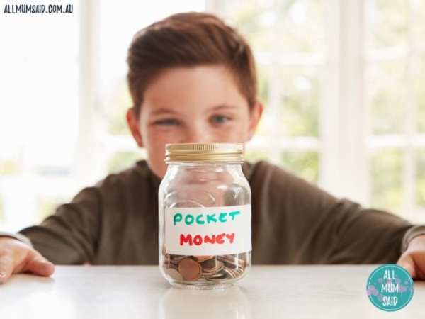 How much pocket money should child get? teach kids the value of money