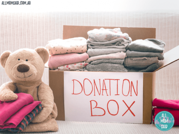 Where to donate goods _ donation box