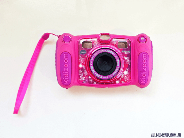 pink Vtech Kidizoom camera review