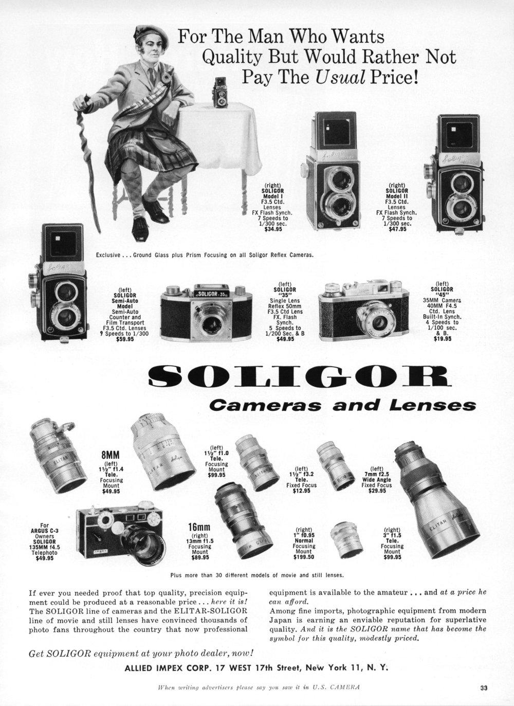 Elitar Soligor 25mm f0.95
