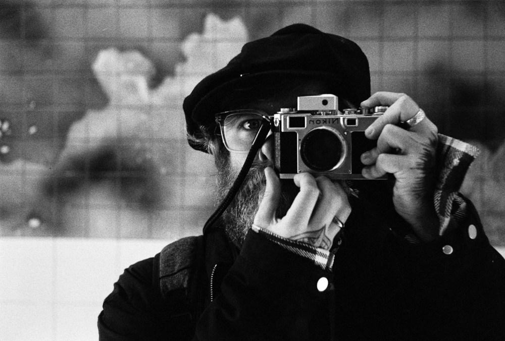 35mm self portrait