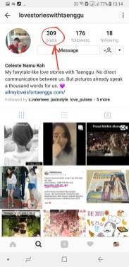 309 posts on my instagram that is dedicated to Taenggu