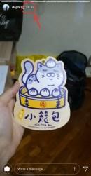 I guess Taenggu was craving for some xiao long bao?? Keke