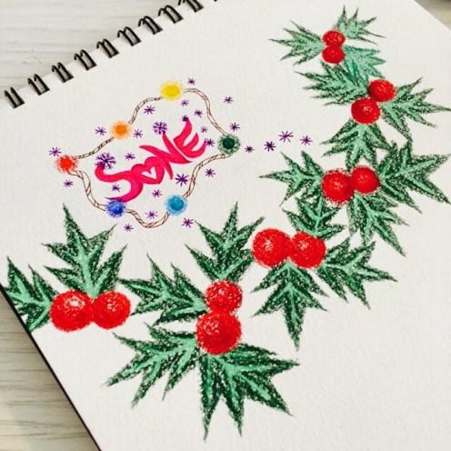Taeyeon's cute drawing - 1