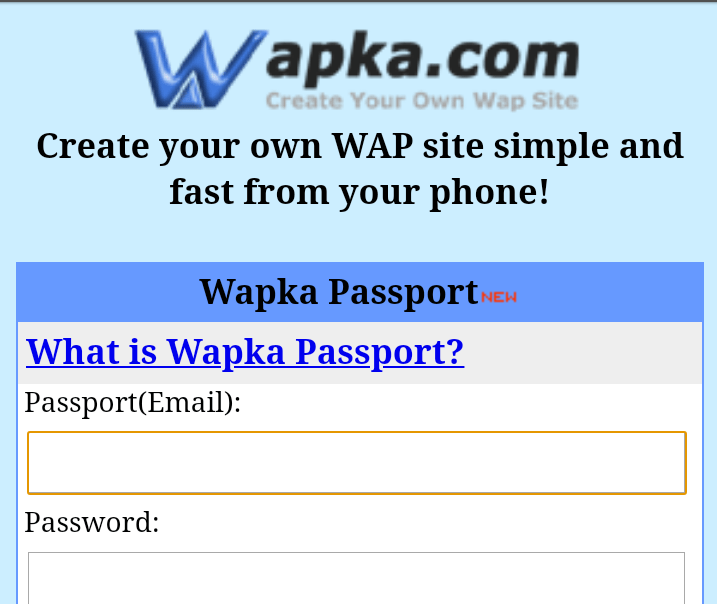 Popular Website Builder Wapka.mobi is Shutting Down Their Platform | Childhood Memories