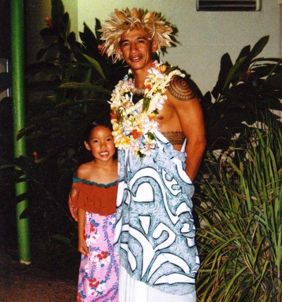 Tatiana Manaois And Dad