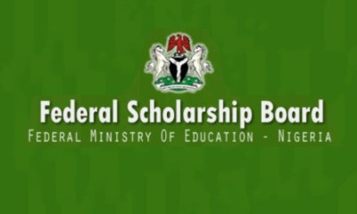 Federal Scholarship Board Nigerian Award Scholarship