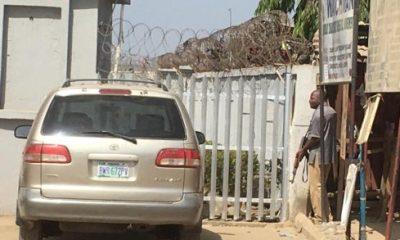 Robbers Abuja Bank