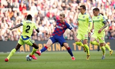 De Jong Barcelona Getafe