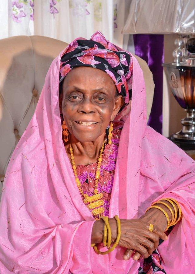 Yahaya Bello Mother, mom - Hajia Hauwau Bello