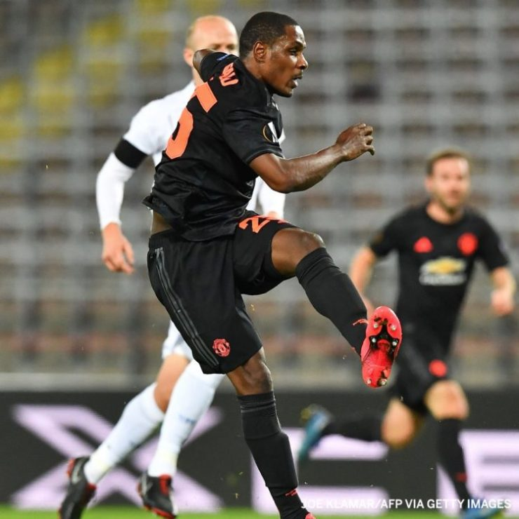 Odion Ighalo Manchester United vs LASK Europa