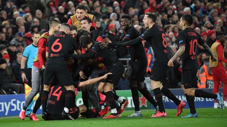 Liverpool vs Atletico de Madrid UCL