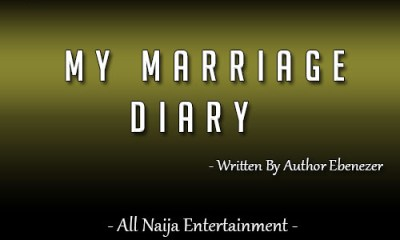 MY MARRIAGE DIARY