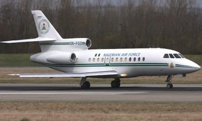 Nigerian Presidential jet