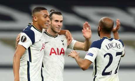 Gareth Bale Tottenham vs LASK Linz Europa League 2020