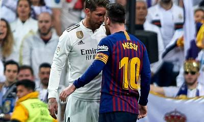 El Clasico, Lionel Messi and Sergio Ramos