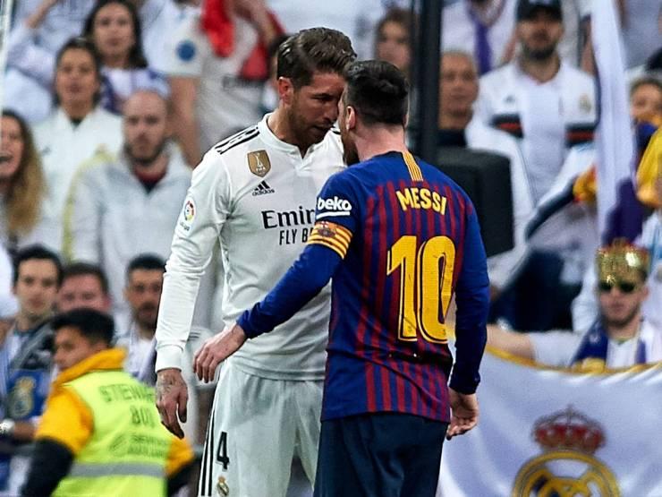 El Clasico, Lionel Messi and Sergio Ramos