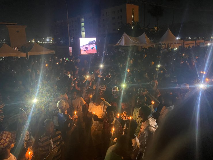End SARS Fallen heroes Candle light