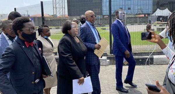 Ten days after shootings Lagos panel finds bullet shells at Lekki Toll Plaza
