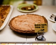 Black and White Fudge Pie
