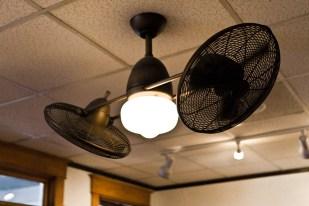 Interesting ceiling fan