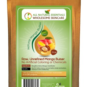 Raw Mango Butter 16oz