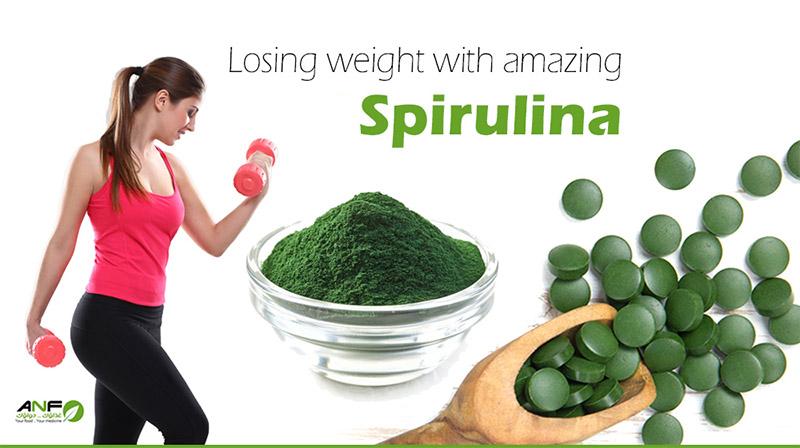 سبيرولينا تساعد على فقدان الوزن