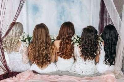تشكيلات مختلفة من قصات الشعر النسائية2021