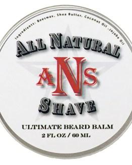2 ounce All Natural Shave Beard Balm