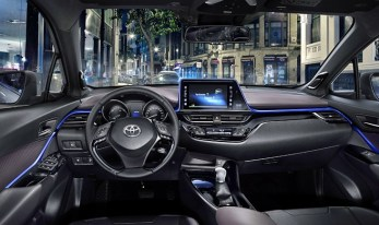 2021 Toyota C-HR with new interior design