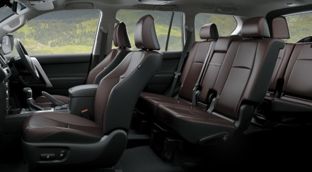 2021 Toyota Prado with new interior design