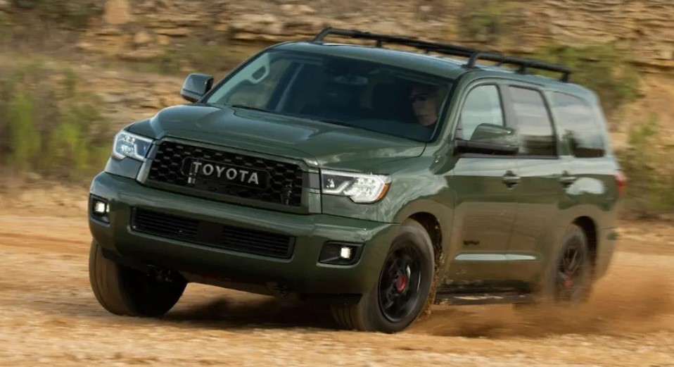 2021 Toyota Sequoia test drive with new engine system