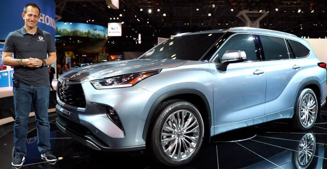 2022 Toyota Highlander at New York Auto Show