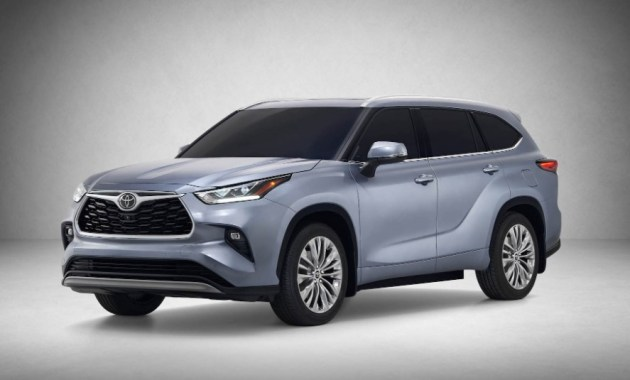 2022 Toyota Highlander with new exterior concept