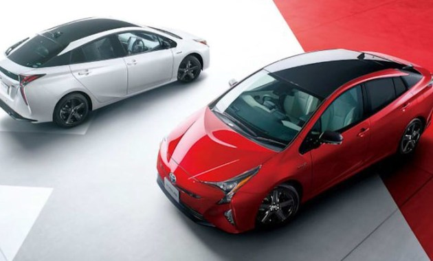 The Next 2022 Toyota Prius at New York Auto Show
