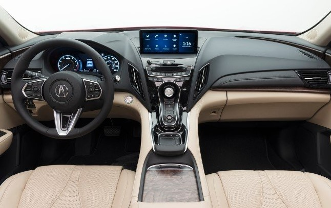 2021 Acura RDX Dashboard and Infotainment System