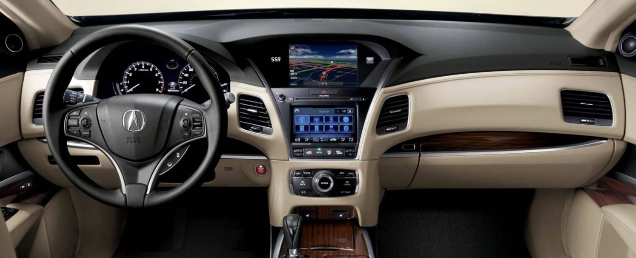 2021 Acura RLX Dashboard and Features