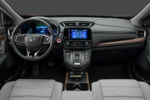 2021 Honda CR-V has more features on Dashboard