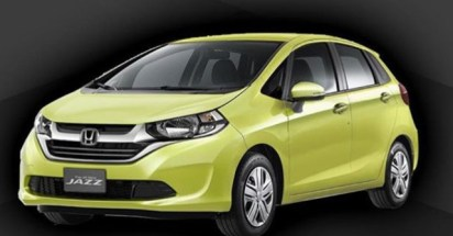 2021 Honda Jazz with new exterior design