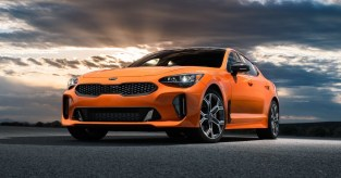 2021 Kia GT Stinger with new exterior design