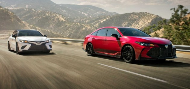 2021 Toyota Avalon TRD powered with new engine system