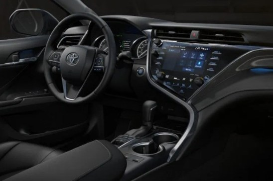2021 Toyota Camry with new interior design