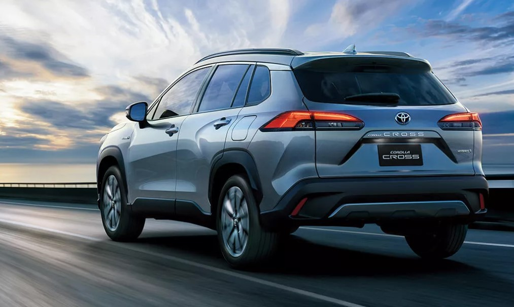 2021 Toyota Corolla Cross powered with new engine system