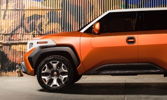 2021 Toyota FJ Cruiser with new exterior design