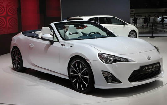 2021 Toyota GT-86 Convertible with new exterior design