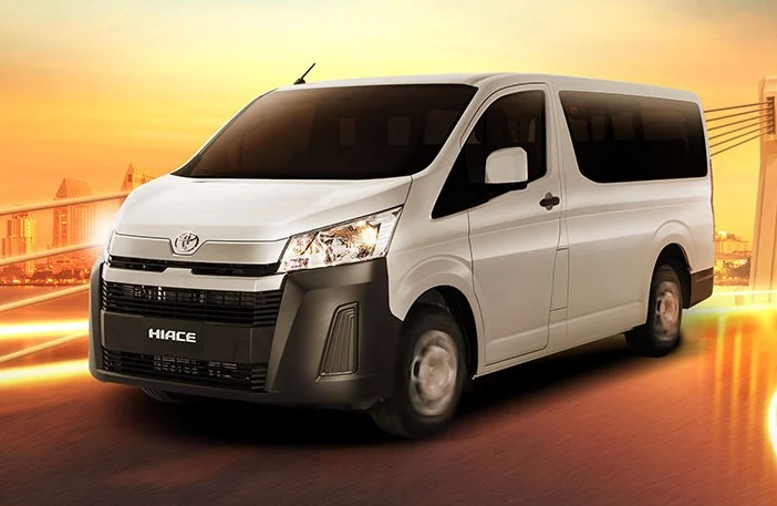 2021 Toyota Hiace with new exterior design
