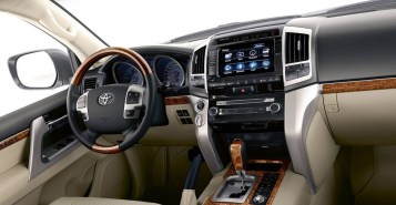 2021 Toyota Land Cruiser 300 with new interior